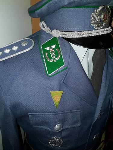 Uniform for ''Oberkommissar der Zollverwaltung der DDR''