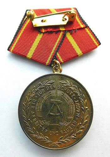 Verdienstmedaille der Nationale Volksarmee