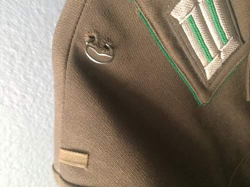 Grenztruppen Unteroffizer Walking out/service uniform.