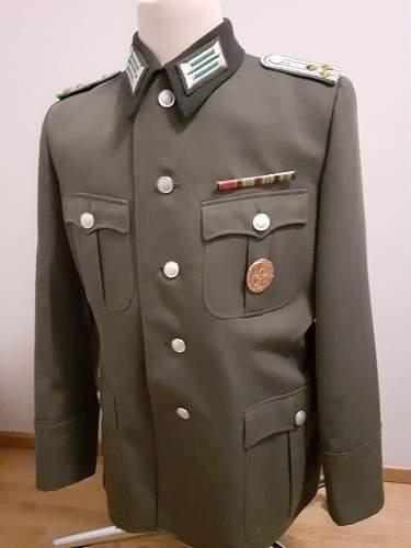 Grenztruppen Oberleutnant tunic 1971