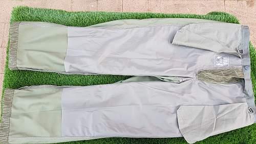 Late NVA Strichtarn trousers