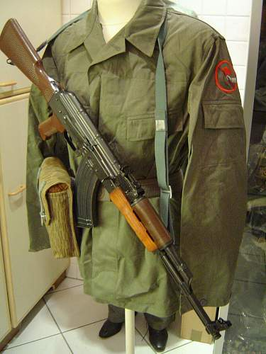 Kampfgruppen field jacket and trousers