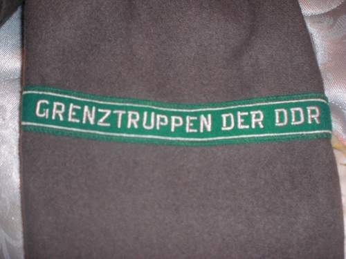 GRENZTRUPPEN DER DDR trench coat