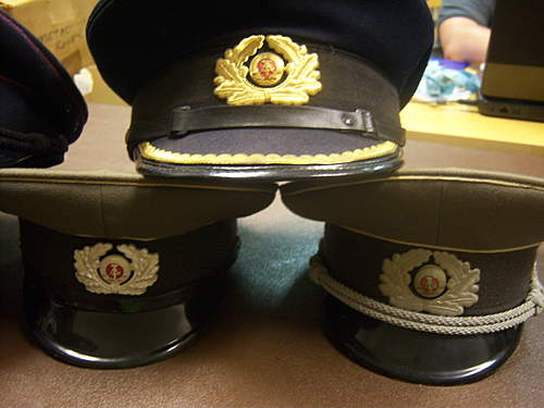Identifying Caps from East Germany