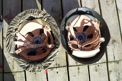 M1956 East German helmet