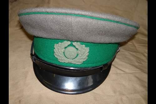 Border guard cap original?