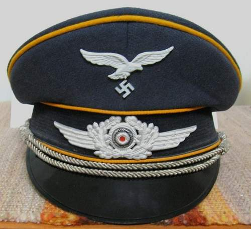 Stamping in NVA enlisted cap?