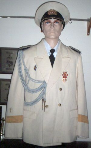 DDR Navy Captain of Medical Service Uniform
