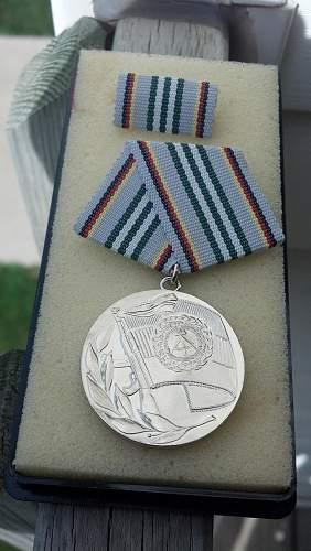 DDR-Deutsche Demokratische Republik/ East German awards and correct terminology.