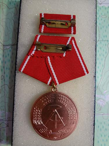 NVA Long Service medals, and others
