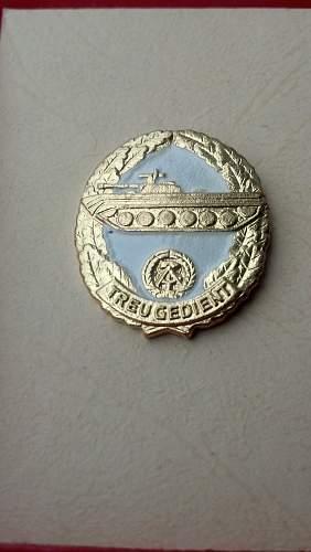 Last Reservist Badge NVA