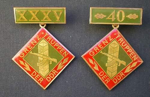 Some DDR badges