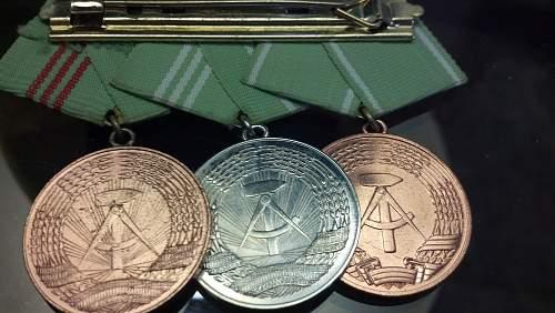 Volkspolizei Medal Bar