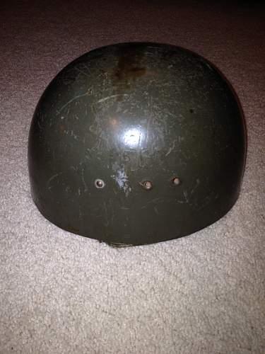 East German Helmet Name ID