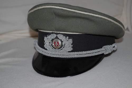 M-1962 Bullion (Handgestickt/Metallgespinst) DDR Visors