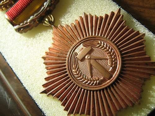 New Medal Vaterländischer Verdienstorden