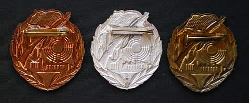 Medals and Badges of the Kampfgruppen der Arbeiterklasse