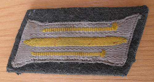 Early Signals Collar Tabs?