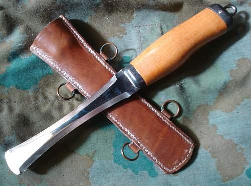 (Polish) NVA cord cutter knife