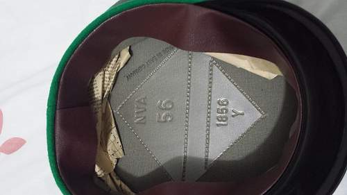 NVA and Border Guards caps: Please give opinions.