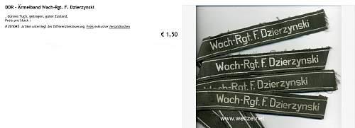 East German Collar Tabs?