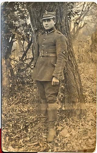 Novice needs help identifying a military uniform/insignia