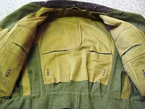 RAD-tunics, global  survey 1933-1945
