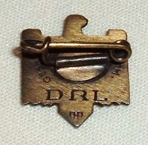 DRL sports service & achievement badge