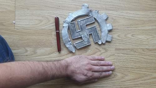 Large RAD Insignia Fragment