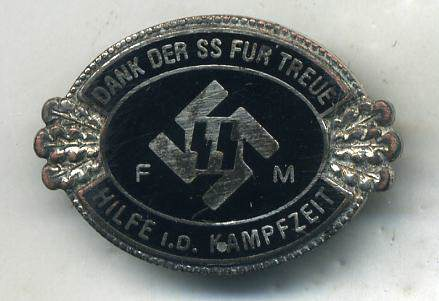 SS FM Pin, RZM Marked M1/133 and Third-Type SA Sports Badge: Authentic Pieces?