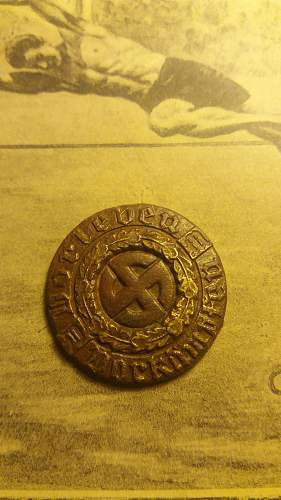 ID Volksgruppe in Rumänien button or pin?