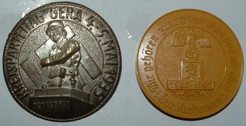 Hitler's Dank Badge, WHW Pin & Tinnie