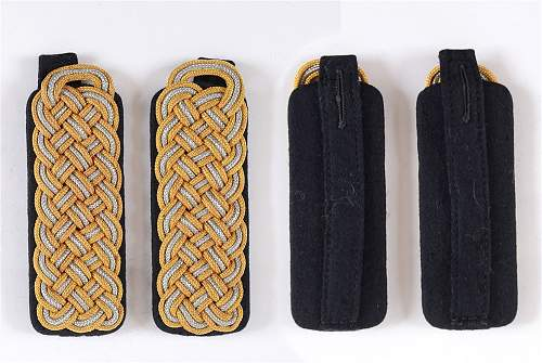 Click image for larger version.  Name:TECHNISCHE NOTHILFE (TENO) - A PAIR OF 1940 PATTERN LANDESFUHRER (L.F.) SHOULDER BOARDS with inn.jpg Views:18 Size:77.4 KB ID:1100049