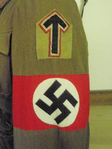 Early Austrian S A Brigadefuhrer Brownshirt