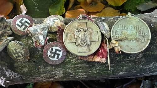 nazi/italian freindship badge?