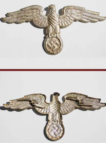 metal Diplomatic style eagle - RZM marked