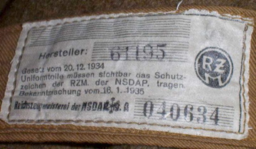Check this makers label out ....