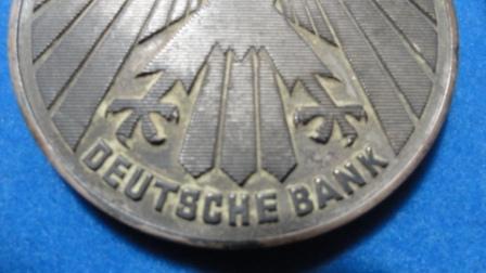 Deutsche Bank - Josef Keinzle Medal / Coin (silver?)
