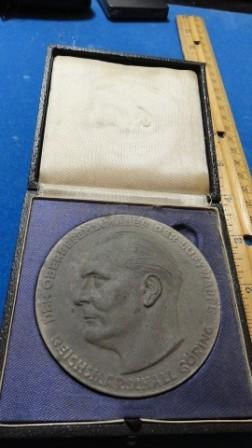 Outstanding Achievement Tech / Reichsmarschall Goring Medal / Coin