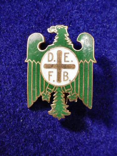 Need Help Identify This Eagle Pin/Badge Marked D.E.F.B.