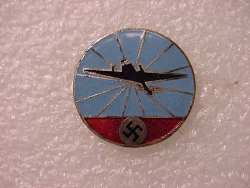 WWII Air Raid Protection Badge