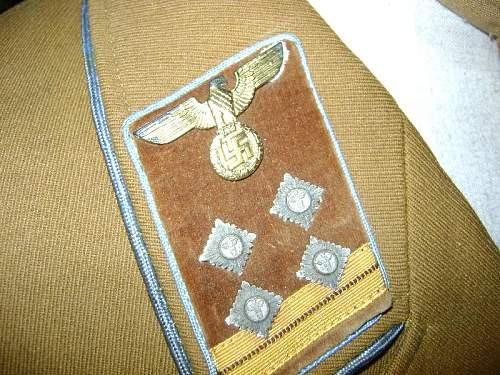 Ortsgruppe Haupt-Gemeinschaftsleiter Uniform