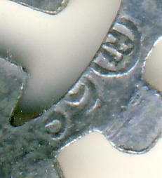 DAF Swastika stickpin