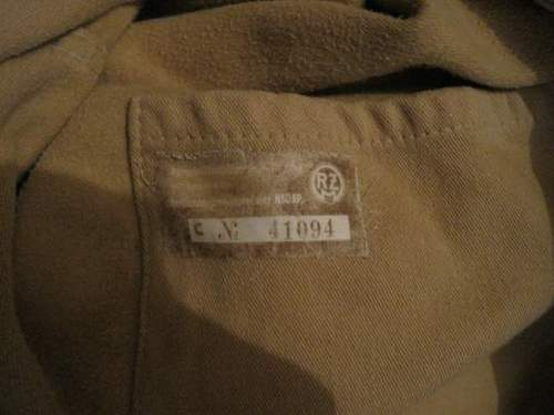 NSDAP Tunic boot sale find what is it