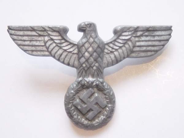 NSDAP Political Cap Eagle: Authentic Piece?