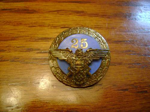 Unknown German Badge,,,what is it???