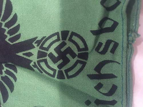 Reichsbahn armband-authentic?  Please share thoughts