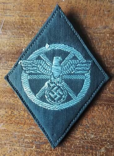 NSKK trade badge. Help please