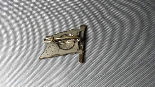 German Navy Pin Flag ?