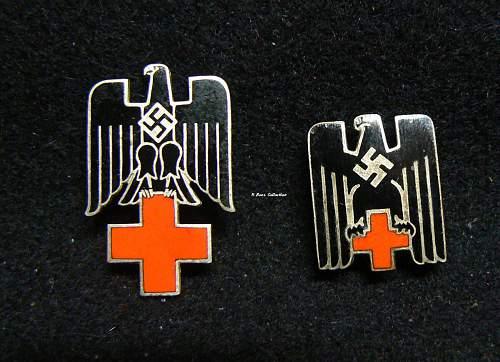 Deutsche Rotes Kreuz  badge visior cap